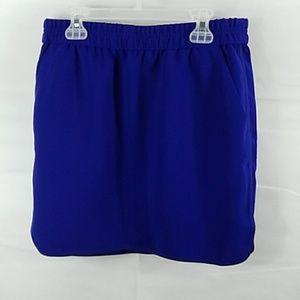 J. CREW Crepe Pencil Skirt with Curved Hem